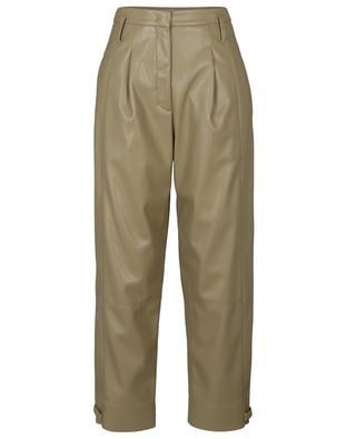 Pantalon carotte en cuir synthétique Sleek Performance DOROTHEE SCHUMACHER
