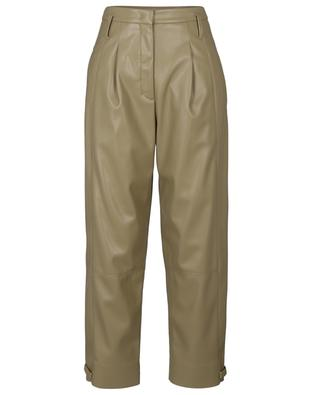 Pantalon carotte en cuir synthétique Sleek Performance DOROTHEE SCHUMACHER