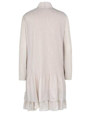 Sparkling Mesh A-line georgette mini dress SEE BY CHLOE