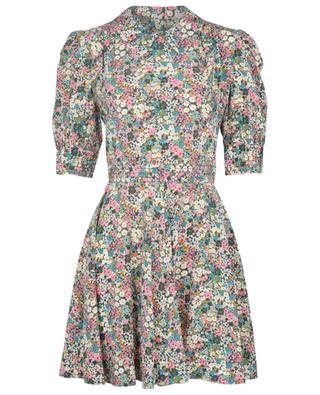 Floral Meadow short flared floral silk dress SEE BY CHLOE