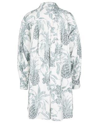 Robe chemise courte en ramie imprimée Spring Fruits SEE BY CHLOE