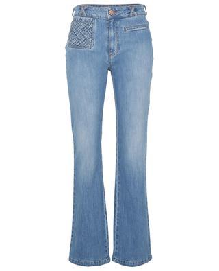 Ausgestellte Jeans mit hoher Taille Signature SEE BY CHLOE
