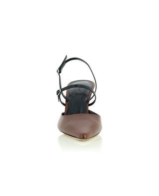 Tiffany dark brown nappa leather pumps BY FAR