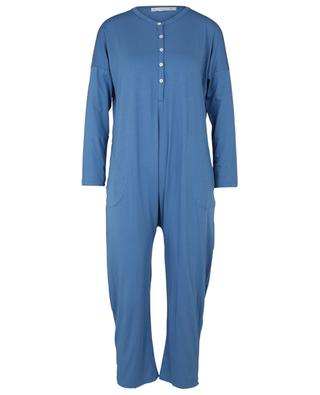 Bohème cotton and modal blend jumpsuit SUNDAY IN BED