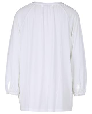 Brigitte long-sleeved cotton and modal blend top SUNDAY IN BED