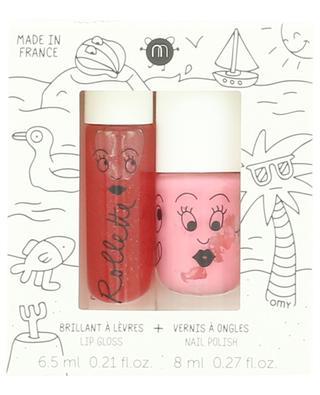 Holidays childrens' nail polish and lip gloss set NAILMATIC