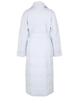 Quilted bath robe and eye mask in organic cotton SKIN