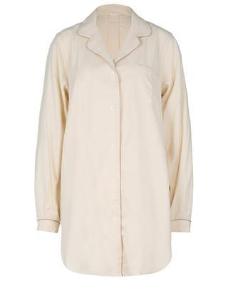 Chemise de nuit en flanelle de coton et de laine ZIMMERLI