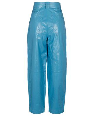 Karottenhose aus Leder in Crinkle-Optik Cleo REMAIN BIRGER CHRISTENSEN