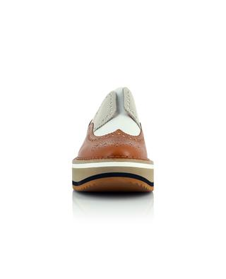 Becka wedge loafers with yokes CLERGERIE