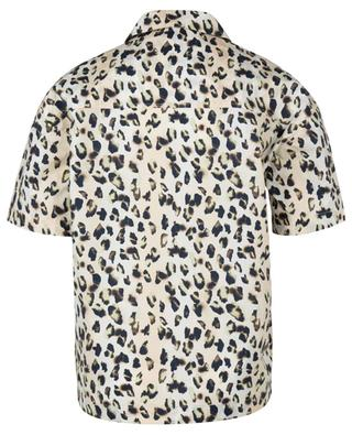 Lilian leopard printed boxy shirt in organic cotton REMAIN BIRGER CHRISTENSEN
