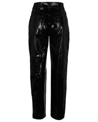 Pantalon droit en cuir effet serpent Elsa REMAIN BIRGER CHRISTENSEN