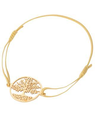 Bracelet cordon avec pendentif arbre en acier inoxydable MOON°C PARIS