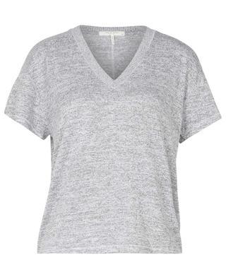 Meliertes Strick-T-Shirt Avryl Vneck S/S RAG&BONE JEANS