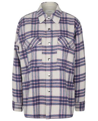 Faxonli checked wool overshirt ISABEL MARANT