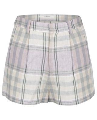 Ilabot checked linen shorts ISABEL MARANT ETOILE