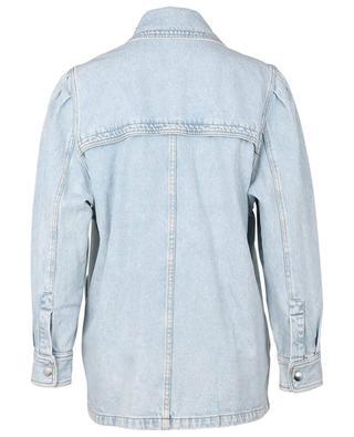 Lucindawf double-breasted denim jacket ISABEL MARANT ETOILE