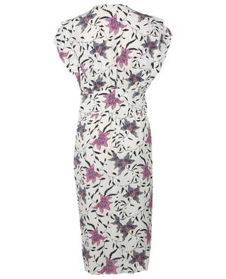 Omeya fitted floral midi dress ISABEL MARANT