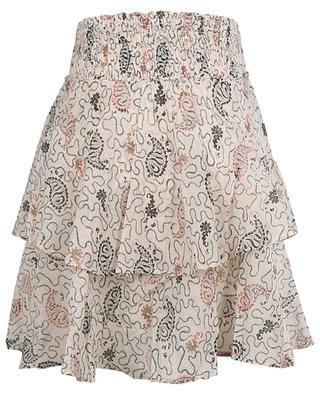 Also printed cotton voile asymmetrical miniskirt ISABEL MARANT ETOILE