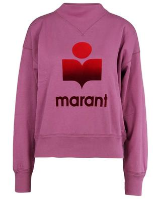 Mob logo print sweatshirt with stand-up collar ISABEL MARANT