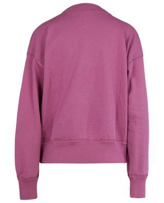 Mob logo print sweatshirt with stand-up collar ISABEL MARANT