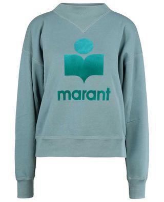 Sweatshirt mit Stehkragen und Logoprint Mob ISABEL MARANT