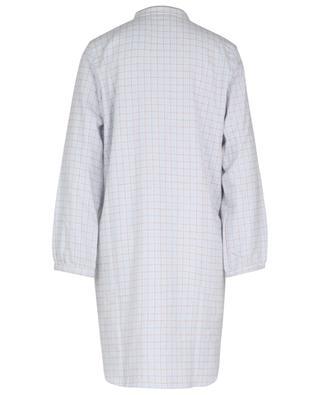 Quadrille cotton check nightgown LAURENCE TAVERNIER