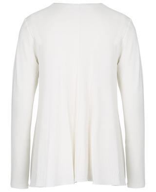 Fondi long-sleeved A-line top with V-neck MAX MARA LEISURE