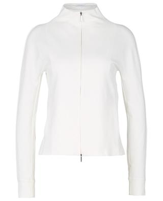 Cordoba zip-up cotton-blend sweatshirt MAX MARA LEISURE