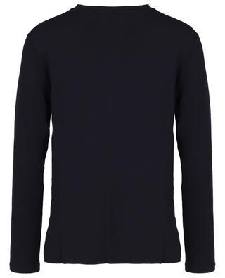 Clarino long-sleeved jersey and silk T-shirt MAX MARA LEISURE