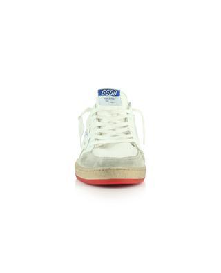 Sneakers aus Mesh, Wildleder und Leder mit Logo Ballstar GOLDEN GOOSE