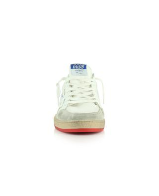 Ballstar mesh, suede and leather sneakers with logo GOLDEN GOOSE