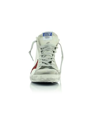 Francy Classic white sneakers with red star and zebra detail GOLDEN GOOSE