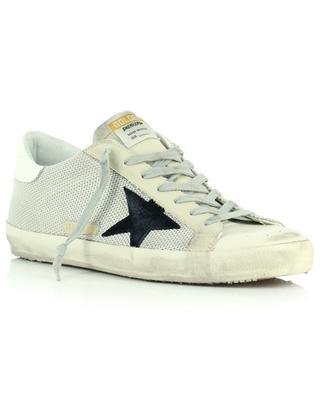 Sneakers aus Nylon und Leder schwarzer Stern Super-Star Classic GOLDEN GOOSE