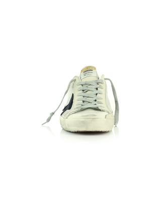 Super-Star Classic nylon and leather sneakers with black star GOLDEN GOOSE