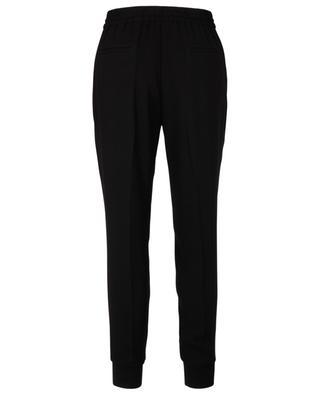 Pantalon fuselé en crêpe élastique à la taille WINDSOR