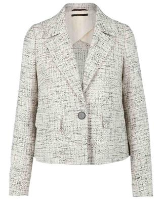 Kurze Anzugjacke aus Baumwolle in Tweed-Optik WINDSOR