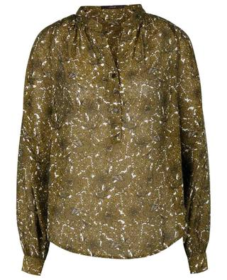 Bluse aus Crêpe mit ornamentalem Print WINDSOR