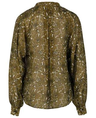 Ornamental print adorned crepe blouse WINDSOR