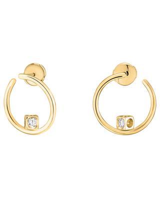 Créoles en or jaune Le Cube Diamant DINH VAN