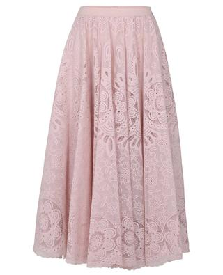 Lace A-line midi skirt RED VALENTINO