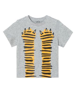 Baby-T-Shirt aus nachhaltiger Baumwolle Paws Up STELLA MCCARTNEY KIDS