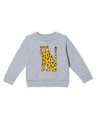 Sweat-shirt bébé imprimé Cheetah STELLA MCCARTNEY KIDS