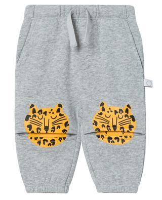 Pantalon de jogging bébé en molleton Funny Tiger STELLA MCCARTNEY KIDS