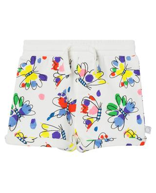 Butterfly printed baby sweat shorts STELLA MCCARTNEY KIDS