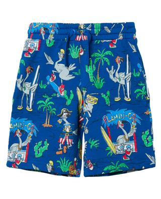 Flamingo Land printed sweat shorts STELLA MCCARTNEY KIDS