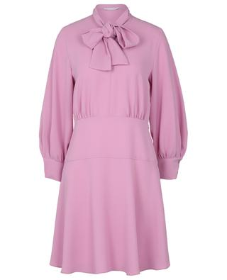 Kurzes Kleid aus Crêpe mit Schluppe Trudy IBLUES