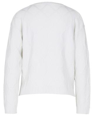 Giuria round neck virgin wool cable knit jumper IBLUES