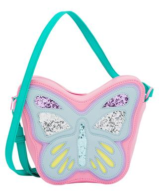 Butterfly faux leather girls' shoulder bag STELLA MCCARTNEY KIDS