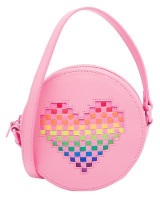 Heart faux leather girls' shoulder bag STELLA MCCARTNEY KIDS